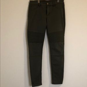 Army Green Stretchy Pants